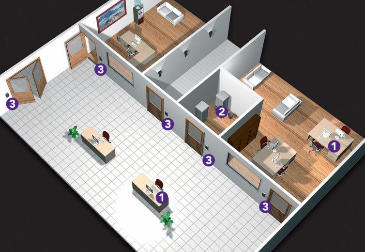 activa-pro-access-control-floorplan