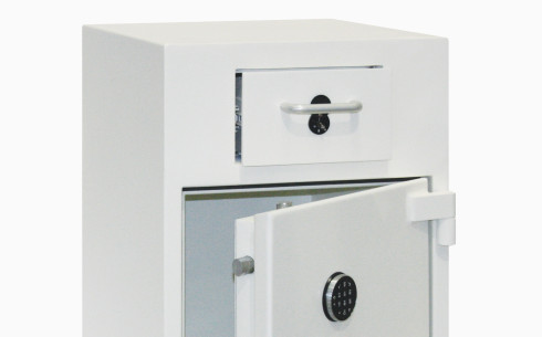 Grade-2-drawer-deposit-safe-open