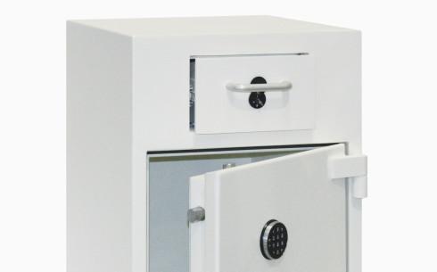 Grade-2-drawer-deposit-safe-open
