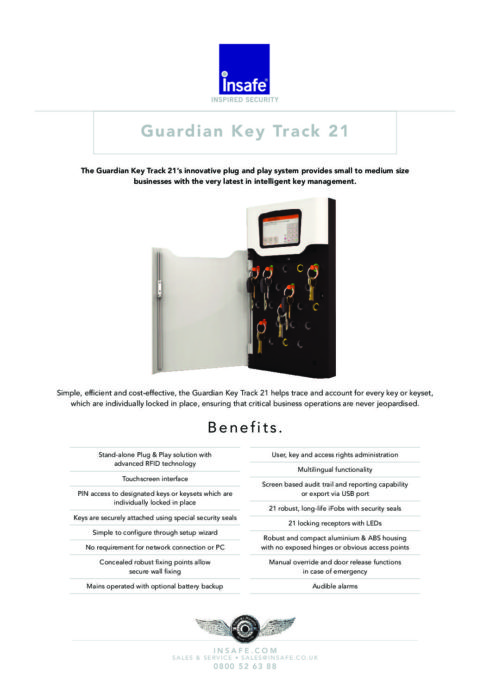 Guardian International Currency: Guardian Key Track 21