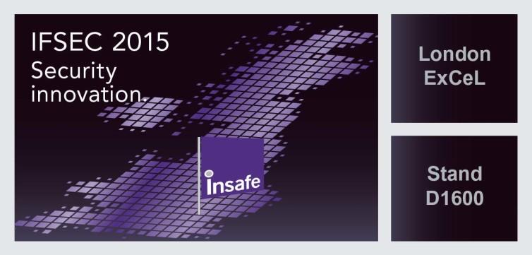 IFSEC 16-18 JUNE 2015