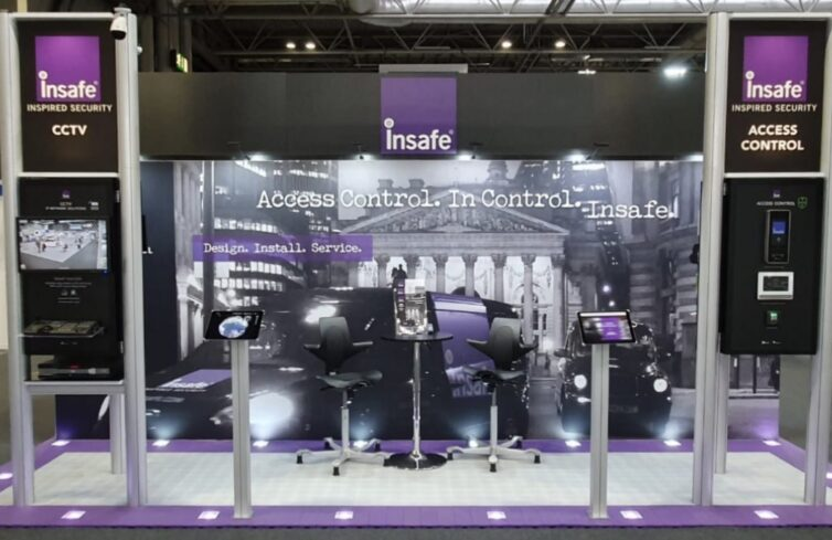 Insafe's Electronic Security Stand at The Security Event