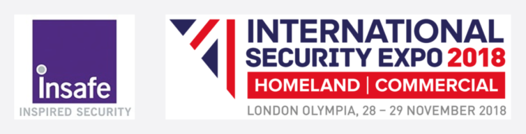 Insafe will exhibit at International Security Expo 2018