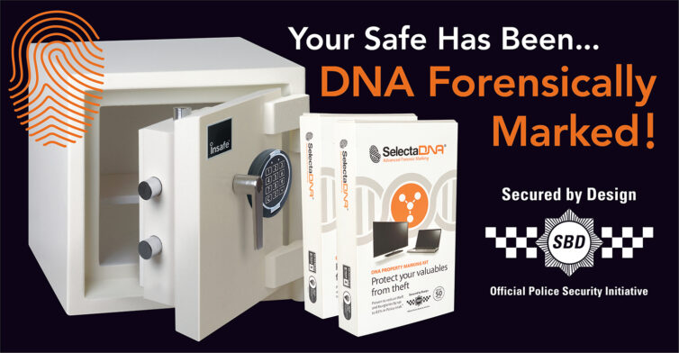 Selecta DNA Forensic Marking Safe Protection Secured by Design Official Police Security Initiative