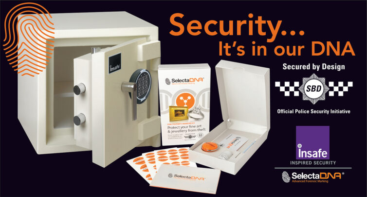 Insafe's Private Client Safes are now DNA coded