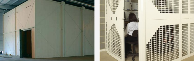 Vaults, Cages and Door Security Products