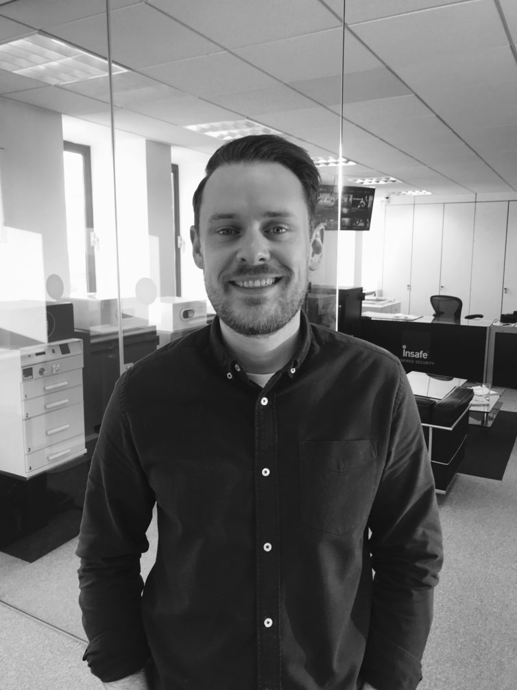 #TeamTuesday Meet Insafe's Sales Office Manager, Kieran Barry
