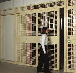 Vaults - opening large vault door