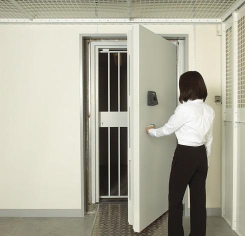 Vaults - opening vault door