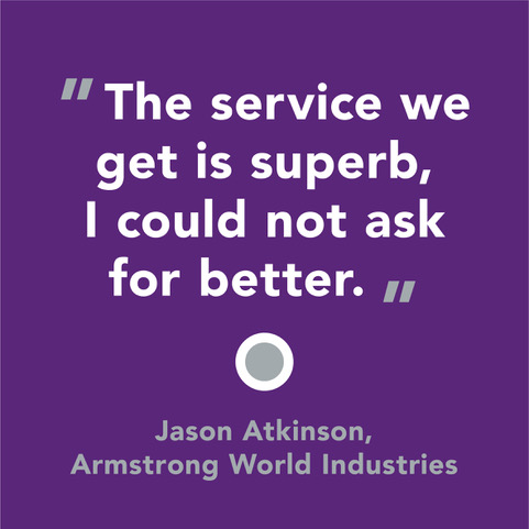 Praise from Armstrong World Industries
