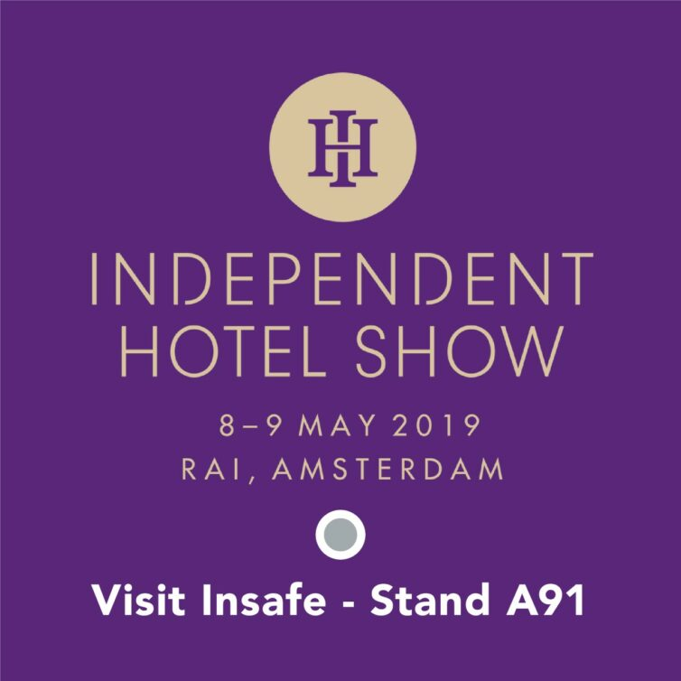 Insafe to exhibit at The Independent Hotel Show in Amsterdam
