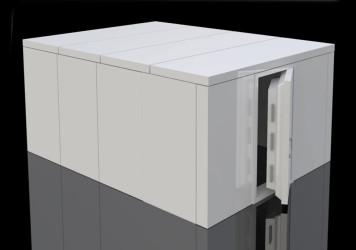 Vaults - vault CAD drawing